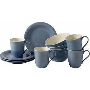 Villeroy & Boch Like Color Loop Horizon porcelánová snídaňová sada, 12 ks