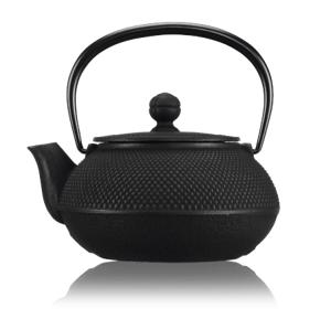 Litinová čajová konvice Arare 0,55 l, černá