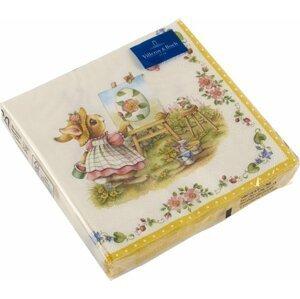 Villeroy & Boch Easter Accessoires ubrousky Bunny Tales, 33 x 33 cm