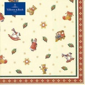 Villeroy & Boch Winter Specials ubrousky, hračky, 33 x 33 cm