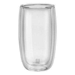 Zwilling Sorrento dvoustěnná sklenice na latte macchiato, 350 ml, 2 ks