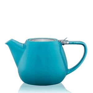 Keramická čajová konvice T.Totem s filtrem, 1,1 l, tyrkysová