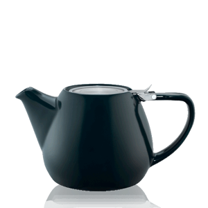 Keramická čajová konvice T.Totem s filtrem, 1,1 l, šedá