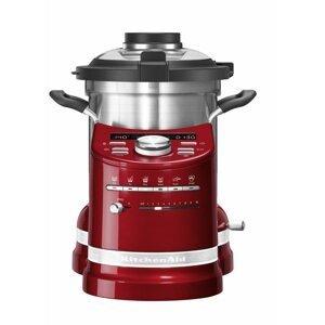 KitchenAid Artisan multifunkční varný robot 5KCF0104, červená metalíza, 5KCF0104ECA