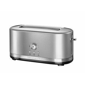 KitchenAid toustovač s dlouhými otvory 5KMT4116, stříbrná