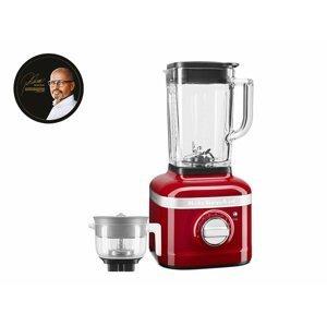 Mixér KitchenAid Artisan K400 + lis na citrusy, červená metalíza, Pohlreich Selection, 5KSB4054ECA PS