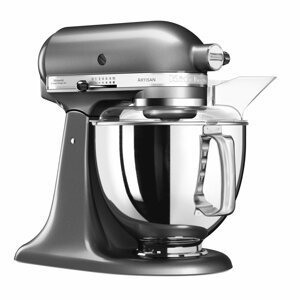 Kuchyňský robot KitchenAid Artisan 5KSM175PSEMS, stříbřitě šedá