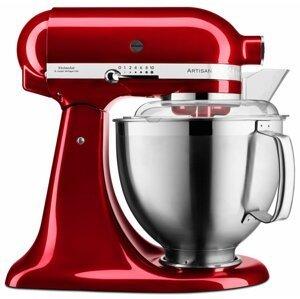 KitchenAid robot Artisan 5KSM185PSECA, červená metalíza