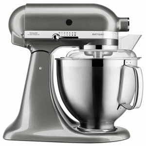 KitchenAid robot Artisan 5KSM185PSEMS, stříbřitě šedá