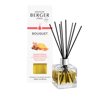 Maison Berger Paris aroma difuzér Cube, Pomeranč a skořice 125 ml