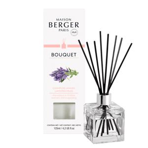 Maison Berger Paris aroma difuzér Cube, Levandulové pole 125 ml