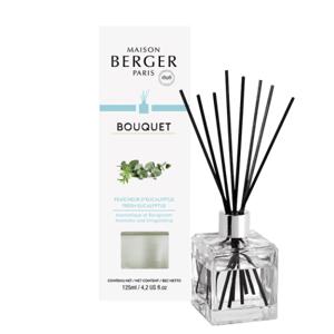 Maison Berger Paris aroma difuzér Cube, Čerstvý eukalyptus 125 ml