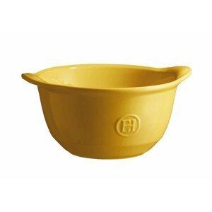Miska na polévku, zapékací Emile Henry Ultime, žlutá Provence, 0,55 l