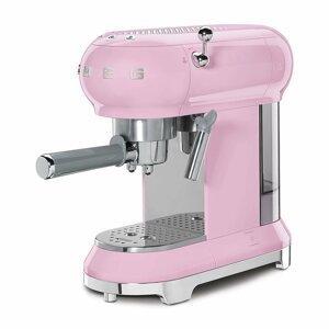 Kávovar Smeg 50´s Retro Style ECF01, růžový
