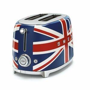 Toustovač Smeg 50´s Retro Style TSF01, 2x2, Union Jack, TSF01UJEU