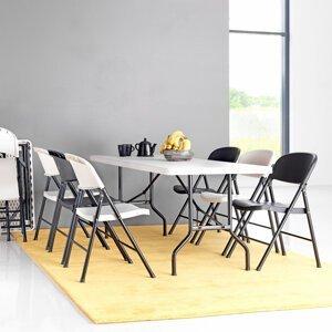 Skládací stůl Klara, 1830x760 mm, plastová deska