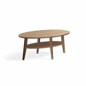 Konferenční stolek Holly, 1200x700 mm, dub
