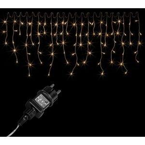 VOLTRONIC® 2052 Vánoční světelný déšť 200 LED teple bílá - 5 m