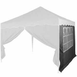INSTENT 36858 Náhradní boční stěna ke stanu s oknem - antracit