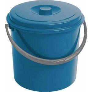 Curver kbelík s víkem modrý 16 l 03208-287