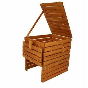 Gaboni Zahradní dřevěný kompostér 800l TP55479