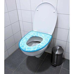 Magnet 3Pagen Polstrované sedátko na WC, modrá