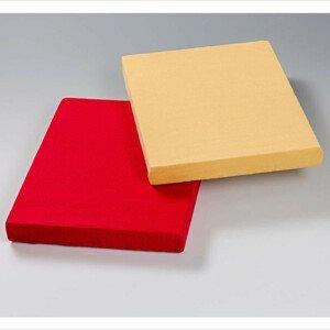 Magnet 3Pagen 2 napínací prostěradla, červená