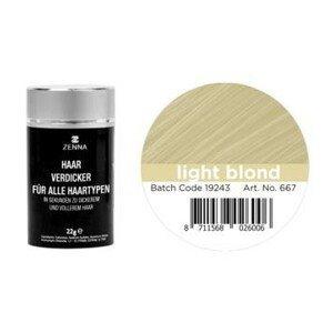 Magnet 3Pagen Vlasy pro zvětšení objemu světlá blond