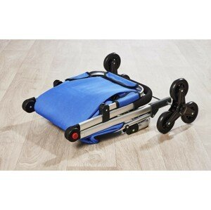 Magnet 3Pagen Nákupní taška na kolečkách modrá