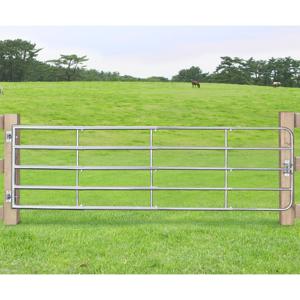 Brána SafeGate M vyrobené z pozinkované oceli, v balení panty a skrutky- 300 x 90 cm