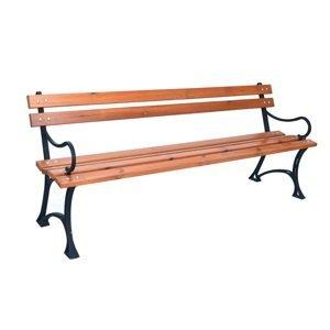 Rojaplast Parková lavice s područkami - FSC