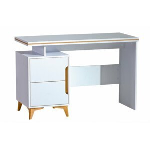 Pc stolek GRANT 12, bílá/olše