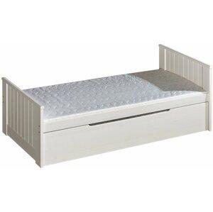Dětská postel z masivu TARA 200x90, borovice bílá