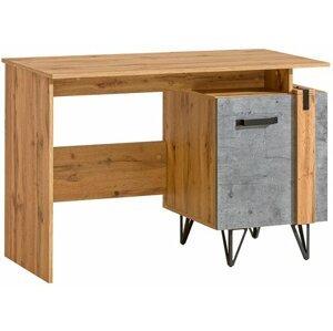 Pc stolek Leewood 9, dub/šedá