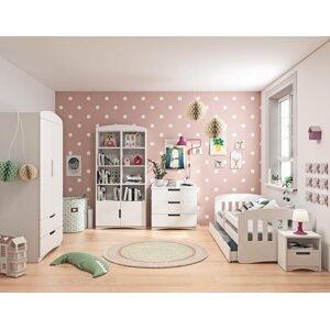 Dětský pokoj CHLOE 140x80, bílá