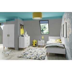 Dětský pokoj KARA 1, bílá