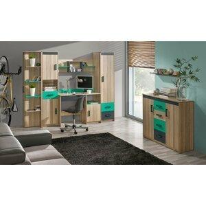 Dětský pokoj UGO 2, zelená
