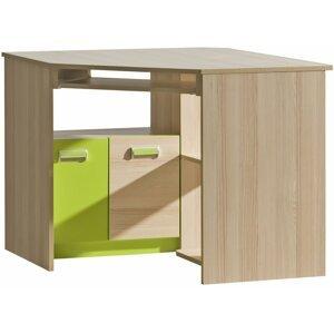 pc stůl LUCAS 11, zelená