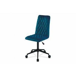Dětská kancelářská židle KA-T901 látka/ kov Autronic Modrá