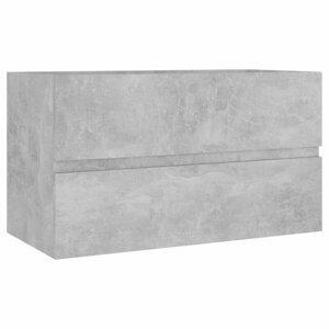 Skříňka pod umyvadlo 80 cm Dekorhome Beton