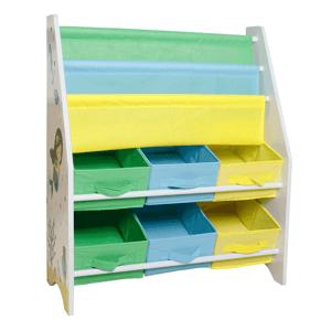 Regál na hračky NOMITO TYP 1 bílá / vícebarevná Tempo Kondela