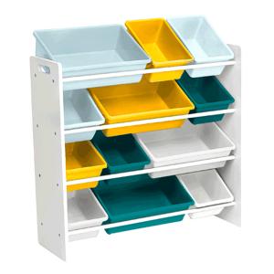Regál na hračky MADY bílá / vícebarevná Tempo Kondela