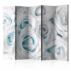 Paraván Satin Rose (Turquoise) Dekorhome