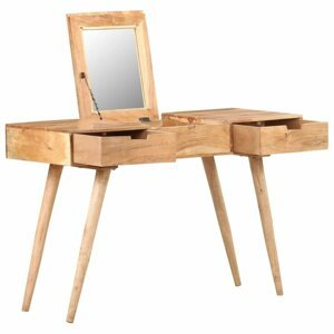 Toaletní stolek masivní dřevo Dekorhome Akácie