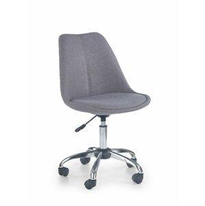 Dětská židle COCO 4 světle šedá Halmar