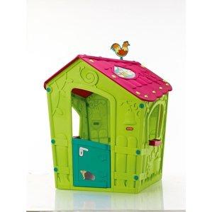 MAGIC PLAY HOUSE domeček - zelený Keter Zelená