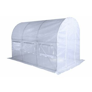 Zahradní fóliovník HG 2x3m Bílá
