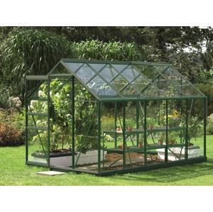 Skleník VITAVIA VENUS 6200 čiré sklo 3 mm Dekorhome Zelená