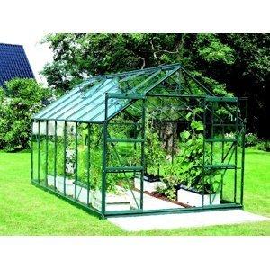 Skleník URANUS 11500 čiré sklo 3 mm Dekorhome Zelená