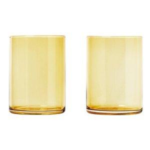 Blomus Set 2 skleniček MERA matná zlatá 0,22 l